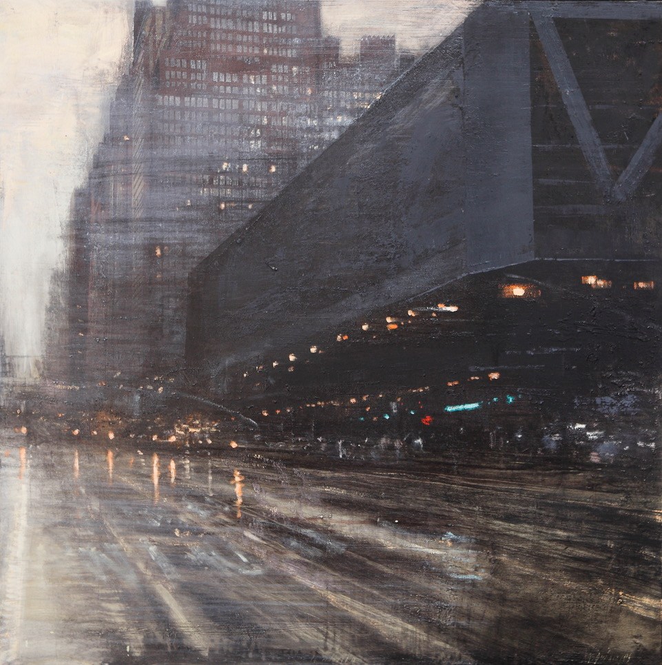 Alejandro Quincoces - The bus station